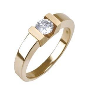 Schmuck Anfertigung Trauring Schmiede Schmuck umarbeiten Pforzheim Ring mit Diamant
